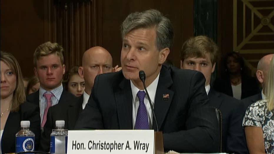 Wray on Fmr FBI Directors Comey, Mueller