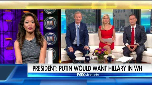Malkin: Putin would prefer Pres. Hillary Clinton.