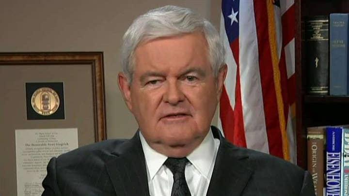Gingrich slams House, Senate GOP handling of investigations