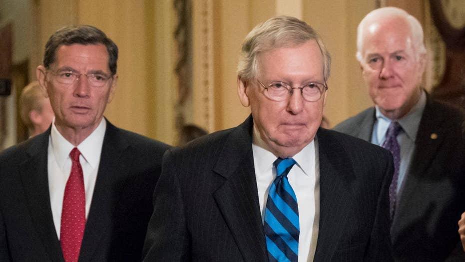GOP senators frustrated ahead of health care bill reveal