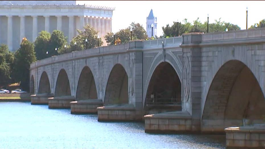 Iconic bridge in nation's capital is falling apart