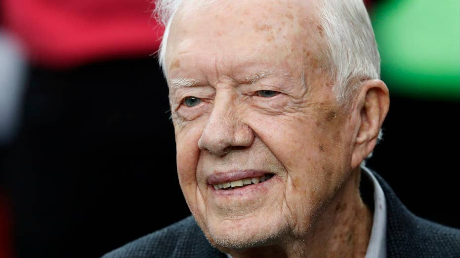 Jimmy Carter hospitalized for dehydration