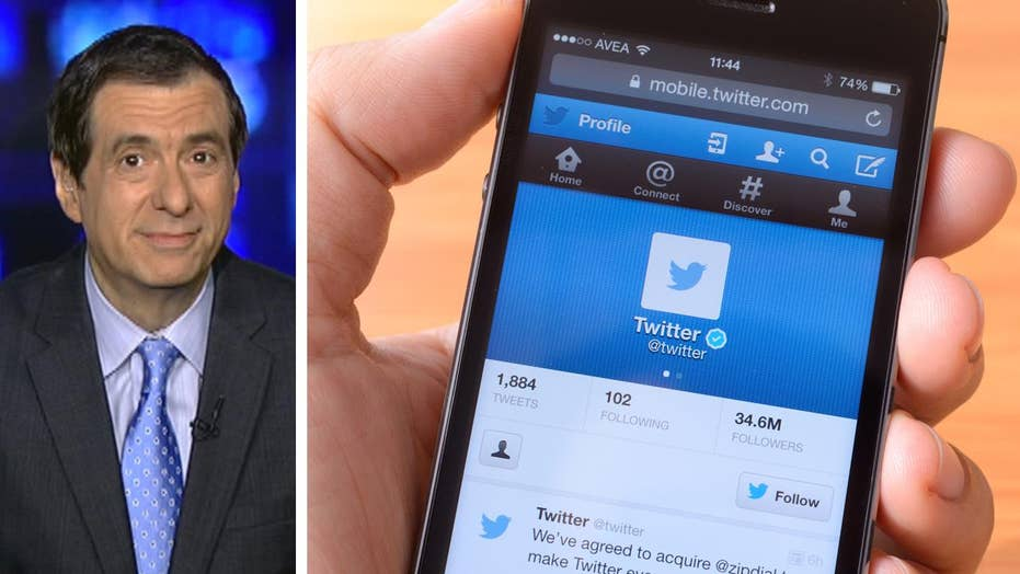 Kurtz: Is Twitter therapy for some Democrats?