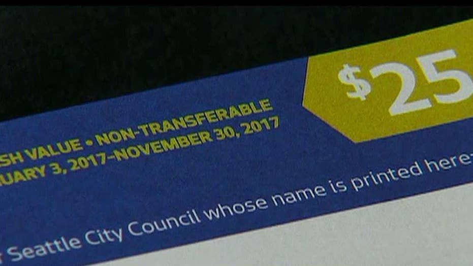 Seattle residents get vouchers to use in campaign financing