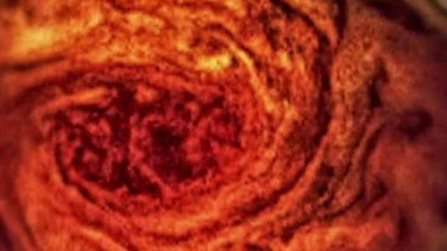 NASA's Juno probe images Jupiter's Great Red Spot