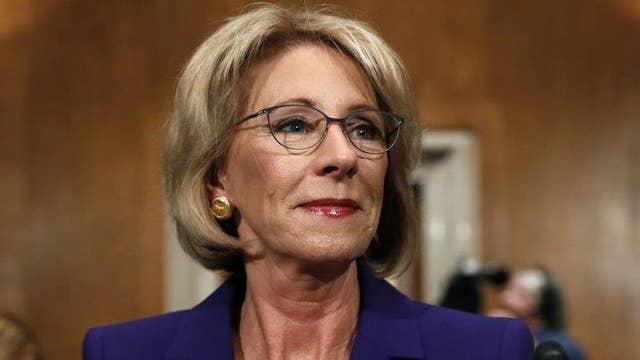 Education secretary considers reversing campus rape guidance
