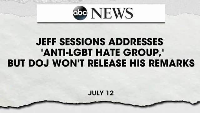 ABC refers to Alliance Defending Freedom as 'hate group'