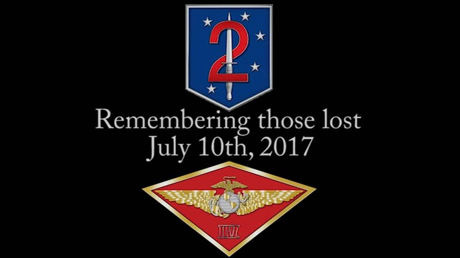 15 Marines and one sailor were lost on July 10, 2017