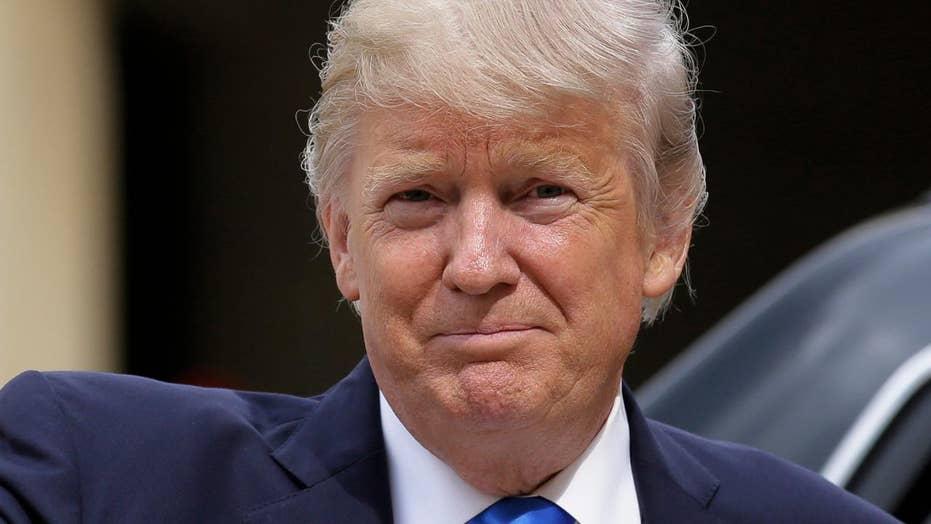 President Trump urges senators to act on health care