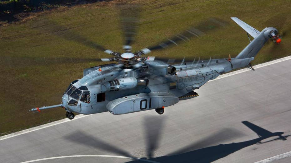 King Stallion: Ultra-powerful new Marine Corps helicopter