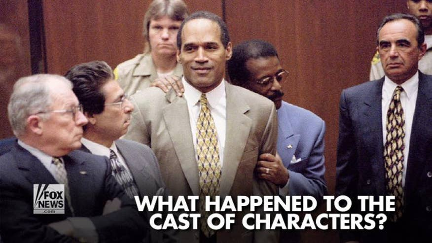 The OJ Simpson murder trial was dubbed the 'trial of the century.' What happened to the cast of characters that had a nation riveted to their television sets