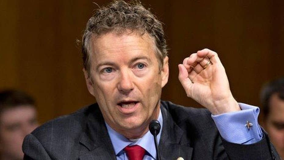 Sen. Paul: Bill is going to subsidize ObamaCare death spiral