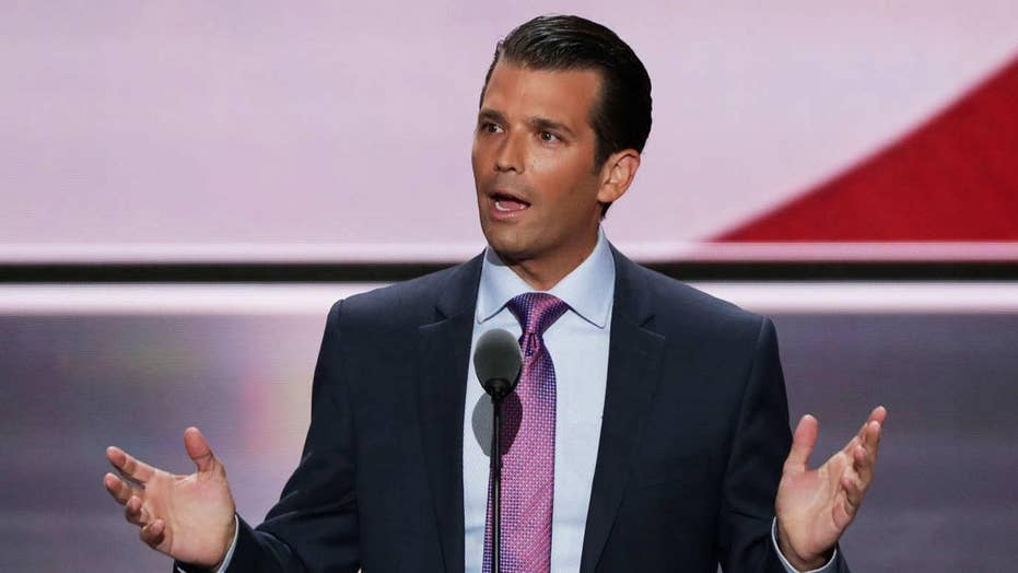 Media furor over Trump Jr.