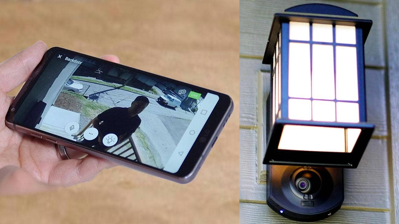 Kuna outdoor smart security camera and light can stop burglars in kuna outdoor smart security camera and light can stop burglars in their tracks fox news aloadofball Gallery