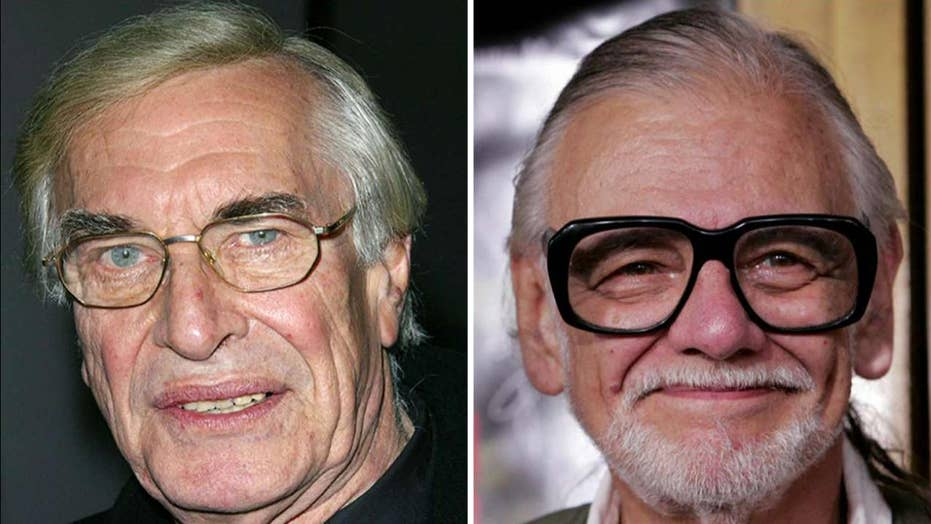 Hollywood mourns losses of Martin Landau, George Romero