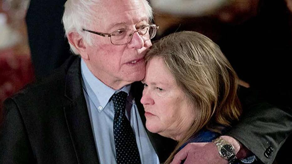 Jane Sanders blames bank-fraud accusations on sexism