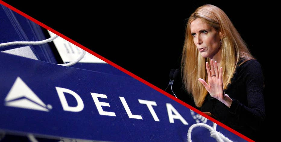 Ann Coulter went on a Twitter tirade after Delta Airlines mixed up her seat.  Delta fired back