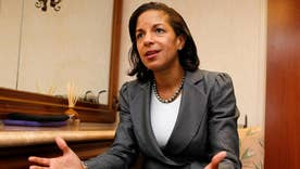 Susan Rice meets with Senate Intel staff on Capitol Hill