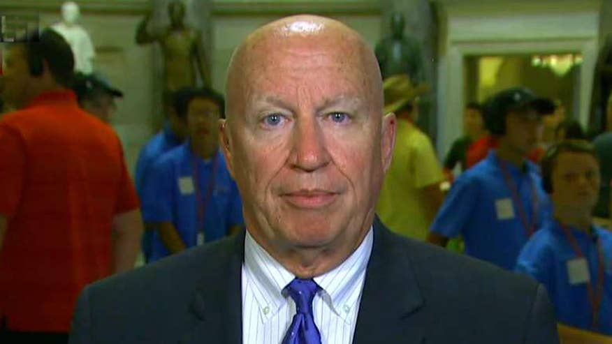 Rep. Kevin Brady admits he's frustrated by Republican senators' failure to pass health care reform, but that hasn't distracted from tax reform effort in the House