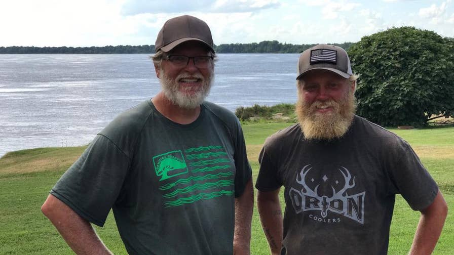 A father and son who are both Army veterans are kayaking down the Mississippi River to raise awareness for veteran suicide and PTSD