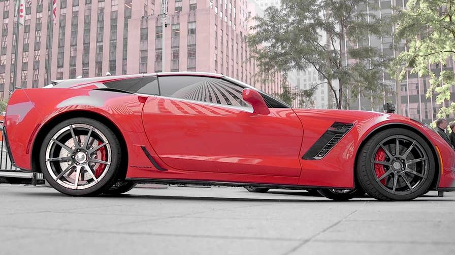 The custom Callaway Aerowagon adds style and storage space to the Chevrolet Corvette.