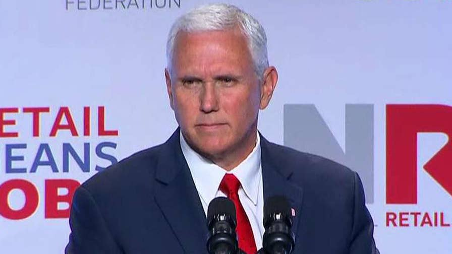 Vice president addresses ObamaCare repeal efforts at National Retail Federation Summit