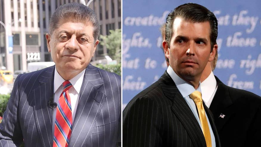 Judge Andrew Napolitano explains why Donald Trump Jr's meeting with Russian officials can spell trouble for the president because it will open the door to further investigation by Special Counsel Robert Mueller
