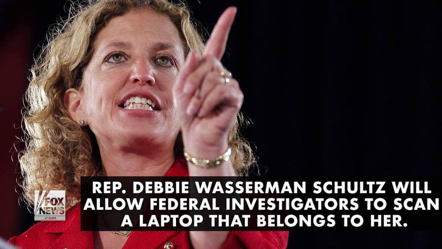 Florida Congresswoman Debbie Wasserman Schultz will allow investigators probing a federal IT security case to access her laptop, after months of stonewalling