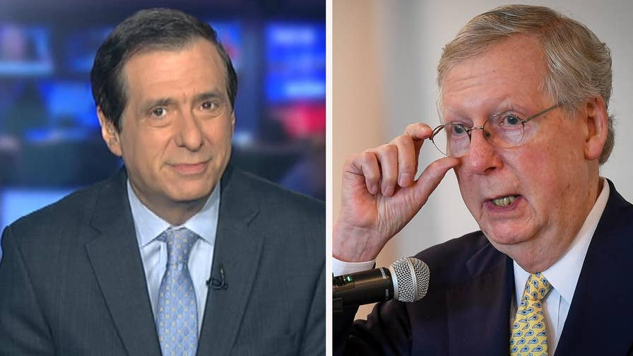 'MediaBuzz' host Howard Kurtz weighs in on the media blaming Mitch McConnell for the collapse of the Senate health care bill
