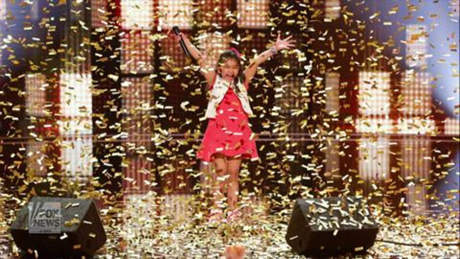 'Americas Got Talent': 9-yr-old blows away competition