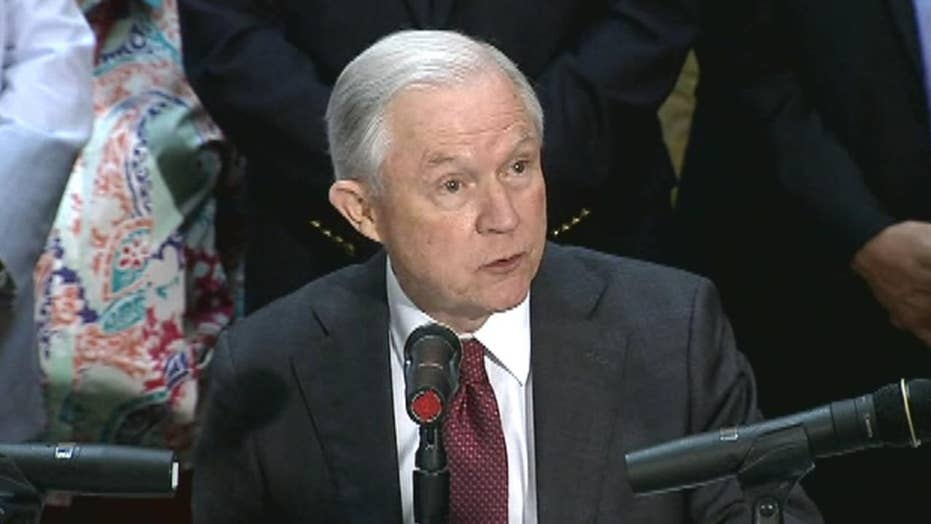 AG Sessions announces shift on civil asset forfeitures