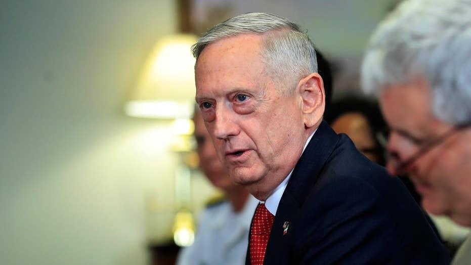 Defense Secretary Mattis briefs Congress on ISIS strategy