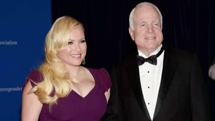 Meghan McCain releases statement, tribute to her father