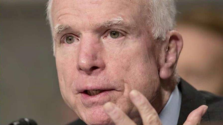 Dr. Andrew Sloan gives insight on Sen. John McCain's brain cancer and his prognosis