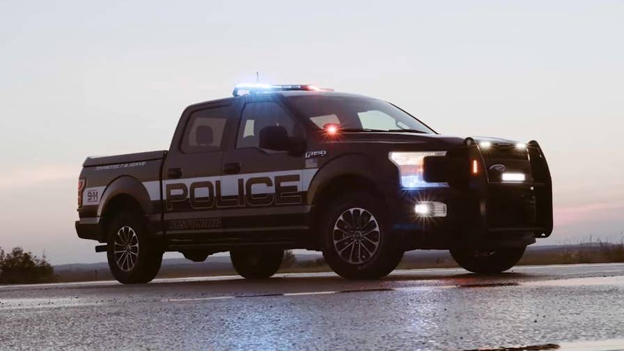 The 2018 F-150 Police Responder is Ford's first pursuit-rated pickup and prepared to patrol on or off road.