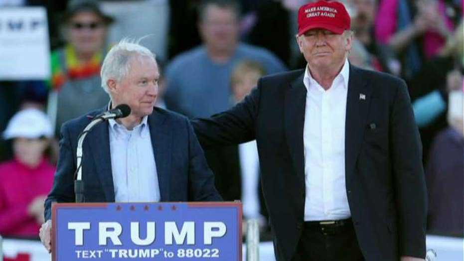 Trump: Wouldnt have chosen Sessions knowing he'd recuse