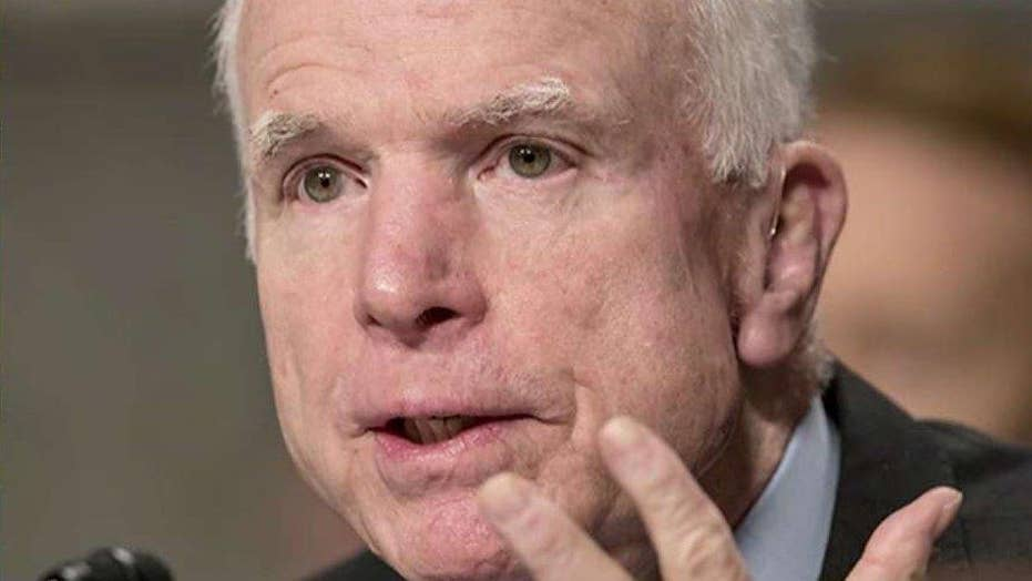 McCain's is 'most malignant of brain tumors'