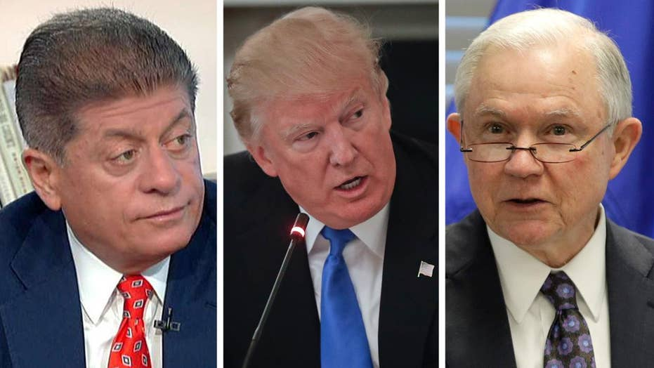Napolitano discusses Trump's criticism of Sessions' recusal