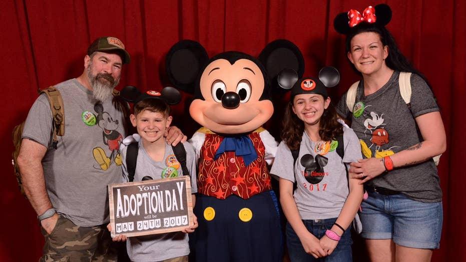 Disney helps adoption dream come true