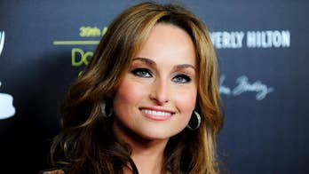 Giada De Laurentiis says 'it was very intimidating' being in front of cameras for the first time