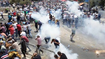 Protests turn violent in Jerusalem between Israelis and Palestinians over the installation of metal detectors near the Temple Mount