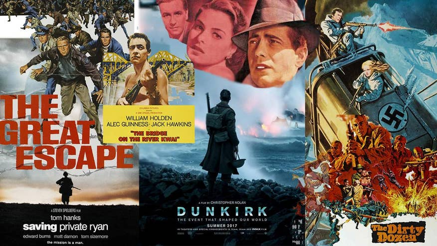 With Christopher Nolan's 'Dunkirk' now in theaters, here are some other essential World War II movies not to be missed