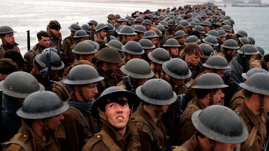 WWII film 'Dunkirk' hits the big screen