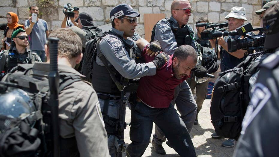 Clashes break out in Jerusalem over holy site