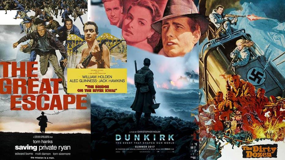 'Dunkirk' to 'Casablanca': Essential WWII movies