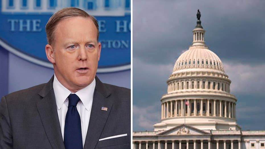 How Spicer's departure impacts WH relationship with Congress