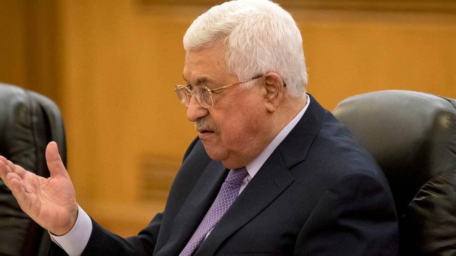 Palestinian president Abbas is freezing contacts with Israel