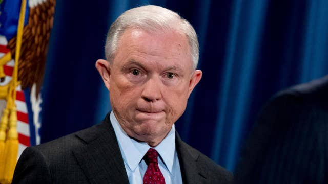 Eric Shawn reports: Is AG Sessions staying. . . or stewed?