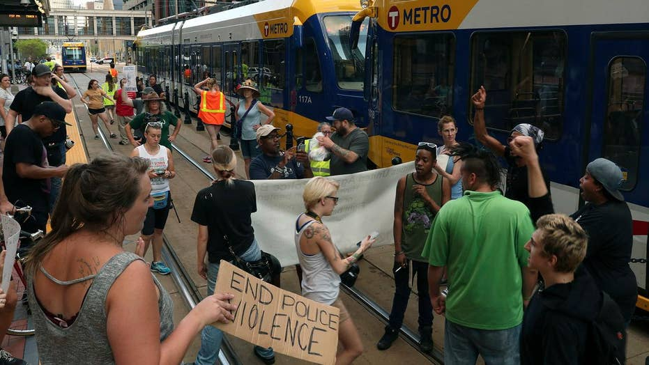 Rally held for woman shot by police in Minneapolis