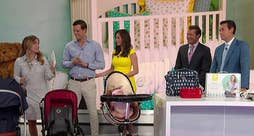 'Fox & Friends' co-hosts compete for title of best swaddler; visit ChicagoBabyShow.com for more information